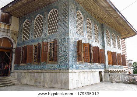 Beautiful Decoration On The Topkapi Palace, Istanbul, Turkey.