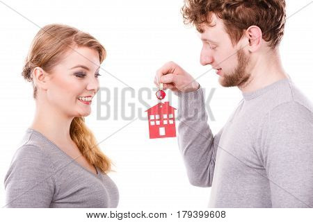 Couple With House Keys.