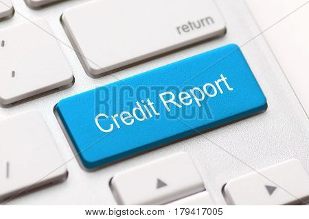 credit report free access loan check score good debt form document display concept