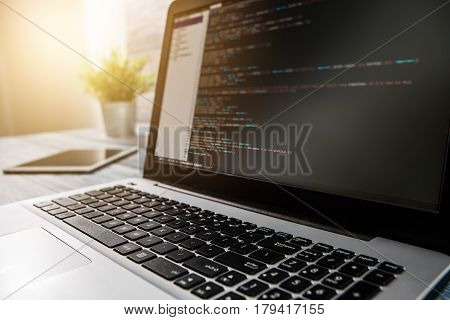 developer development web code tech coding program programming html screen script internet profession dictionary communication occupation identity concept