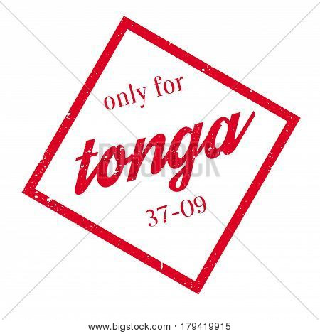Only For Tonga rubber stamp. Grunge design with dust scratches. Effects can be easily removed for a clean, crisp look. Color is easily changed.