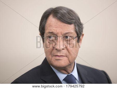President Of The Republic Of Cyprus Nicos Anastasiades