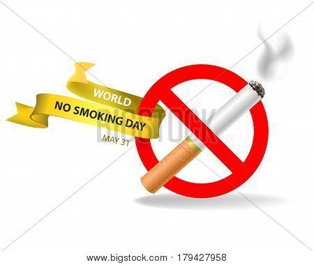 World No Smoking Day. May 31