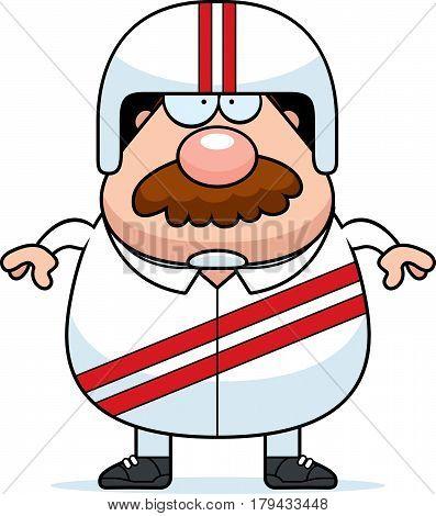 Cartoon Stuntman Mustache