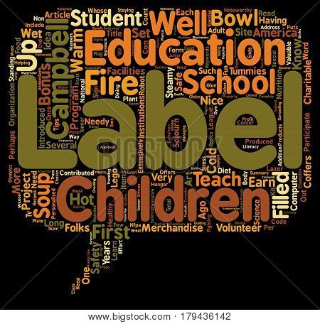 Do We Need Labels text background wordcloud concept