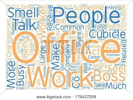 Most Common Employer Complaints Word Cloud Concept Text Background