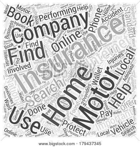 Motor Home Insurance How You Can Get It Word Cloud Concept