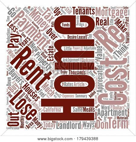 Top Reasons Why FSBOs Fail To Sell Their Home On Their Own text background word cloud concept