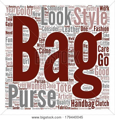 Tote Couture text background word cloud concept