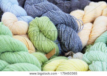 Many Wool Yarns