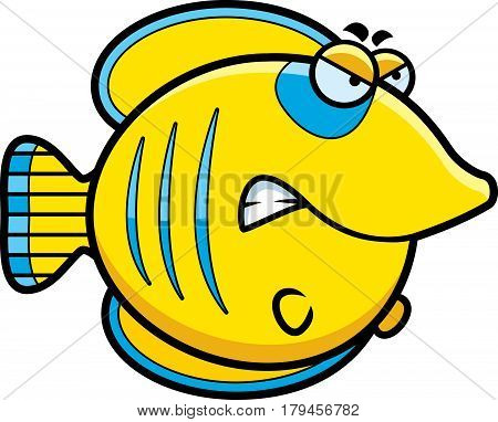 Angry Cartoon Butterflyfish