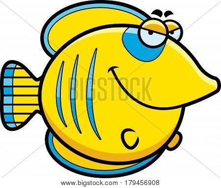 Sly Cartoon Butterflyfish