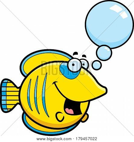 Talking Cartoon Butterflyfish