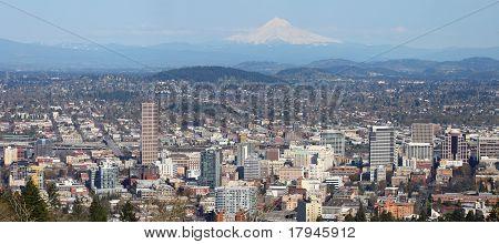 Portland Oregon Panorama.