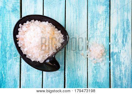 Natural Himalayan rock salt. Pure and unprocessed