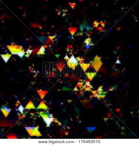 triangle matt pattern, amazing geometric pattern design smooth colors