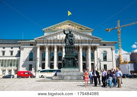 The National Theatre Of Munich. Bavaria, Germany