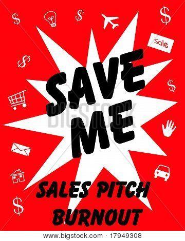 sales pitch burnout