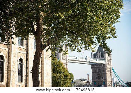 London Bridge in United Kingdom over Thames River
