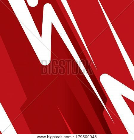 Abstract Red Movement Background . EPS 10