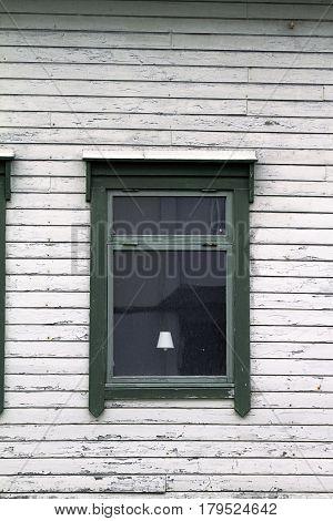 wooden wall rustic windows lamp façade texture