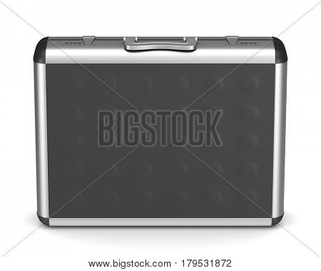 Case on white background. isolated  3D illustration