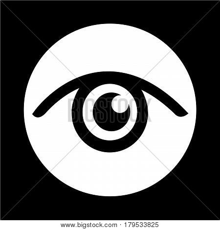 an images of Or pictogram Eye icon
