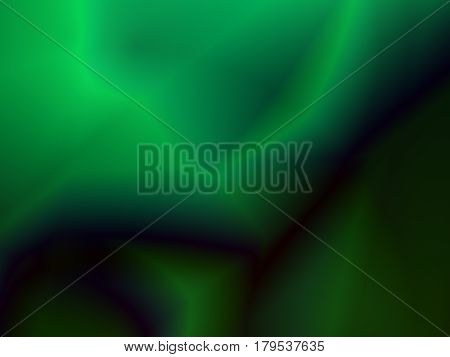 Green abstract fractal background resembling malachite mineral hard semiprecious stone. Text space. For use in various creative designs templates book covers leaflets pamphlets websites etc.