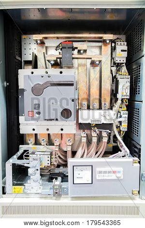 Air circuit breaker or  Main circuit breaker during maintenance