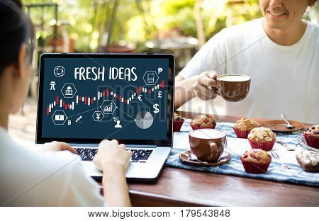 Fresh Ideas Ideas Design Innovation Think Objective Strategy , New Fresh , Innovative Business Innov