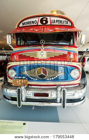 Interior Of The Mercedes Benz Museum In Stuttgart.