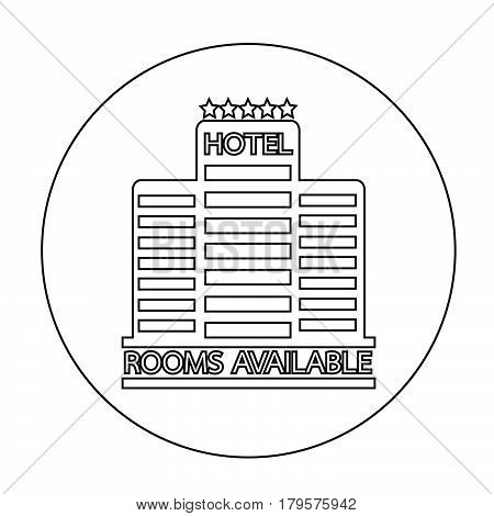 an images of Or pictogram Room Available icon
