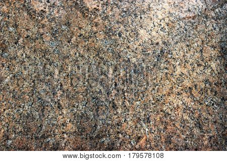 Stone Background Of Mottled Granite Igneous Rock Used For Kitchen Worktops Etc