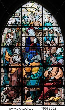 Stained Glass - Pentecost