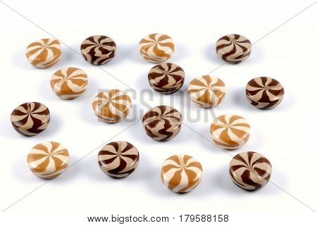 Chocolate-creamy Of A Sweet Sugar Candies