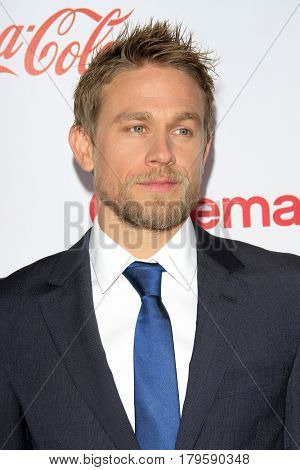 LAS VEGAS - MAR 30:  Charlie Hunnam at the CinemaCon 2017 - The CinemaCon Big Screen Achievement Awards at the Caesars Palace on March 30, 2017 in Las Vegas, NV