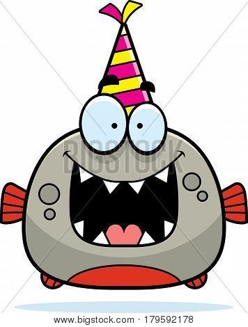 Cartoon Piranha Birthday Party