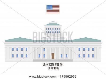 Ohio State Capitol In Columbus