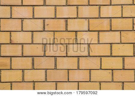 Pattern Of Old Orange Brick Wall