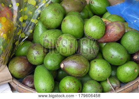 Avocado - a fetus of an evergreen tree in a form similar to a pear