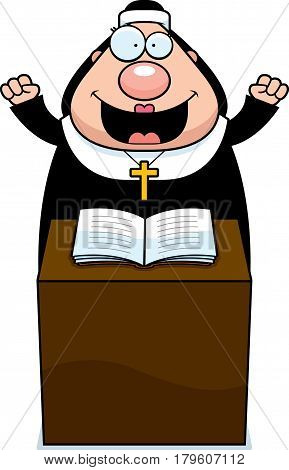 Cartoon Nun Sermon