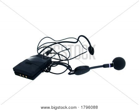 Microphone With Adapter