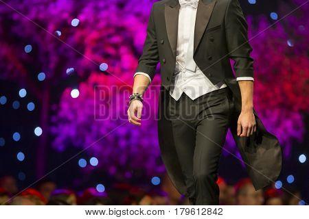 Fashion Show Runway Beautiful Business Model
