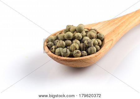 Green Spice Pepper Peppercorns
