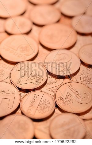 Pile Of Copper Coins