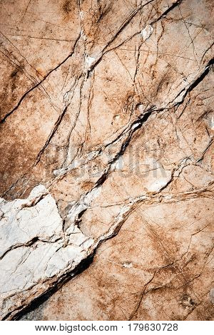 abstract background or texture old limestone veined from