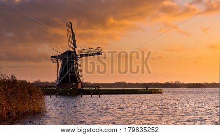Wind Mill Molen Netherlands