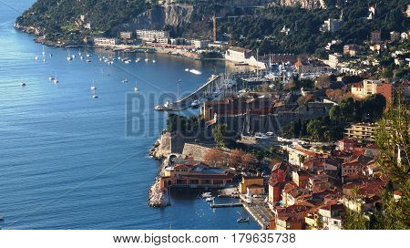 Port Of Nice And Luxury Yachts France