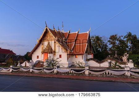 Wat Phumin Temple.