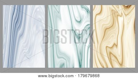 Collection marble patterned texture background, Abstract detailed structure of marble, Can be used for creating a marble surface effect to your designs or images for all decorative stones and interior. (Clipping path included)